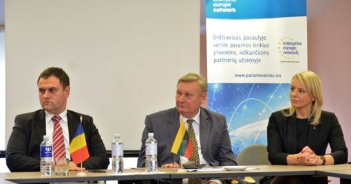 Įsteigta Lietuvos - Rumunijos verslo bendradarbiavimo taryba