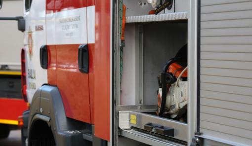 Praėjusią parą daug gaisrų kilo transporto priemonėse