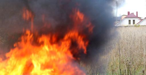 Trečiadienį išdegė beveik 84 ha atvirų teritorijų