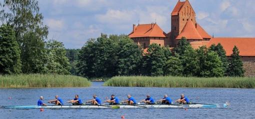 """""""Rowing Masters Sprint"""" regatoje Trakuose susirungs irklavimo meistrai iš viso pasaulio"""