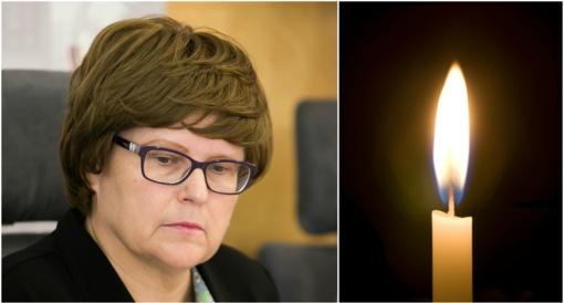 Amžinybėn išėjo buvusi parlamentarė A. Monkauskaitė