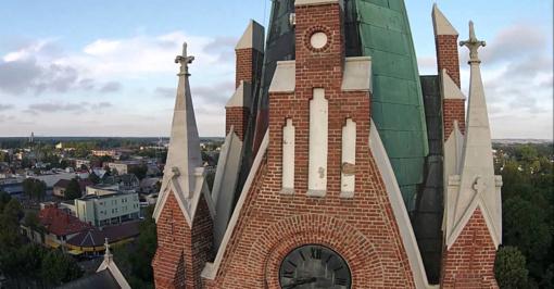 Palangos bažnyčios bokšte laukiami lankytojai