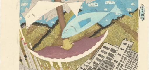 Druskininkuose - šiuolaikinio Japonijos meno paroda
