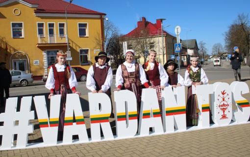 Per Lietuvą keliaujantis dainų šventės žygis kitą savaitgalį atneš linksmybes ir į Tauragę