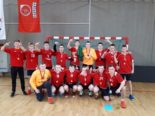 Lietuvos rankinio U-19 čempionate – panevėžiečių triumfas