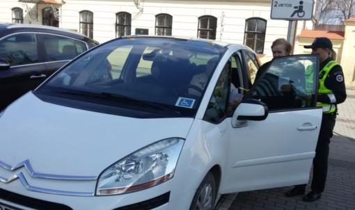 Kėdainiuose saugaus eismo dieną – patarimai ir pokalbiai su vairuotojais ir pėsčiaisiais