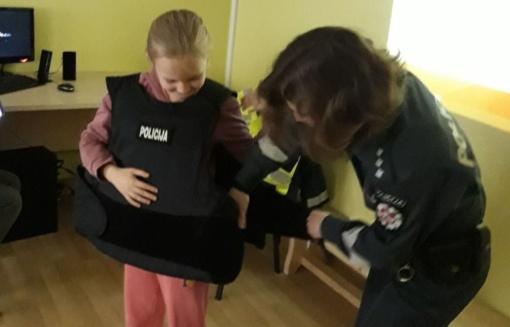 Kupiškio Globos namų auklėtiniams – apie policiją ir atsakomybę