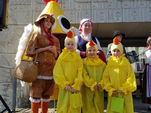 Telšiuose – nuotaikinga Atvelykio šventė ir tradicinė kiaušinienė (FOTO)