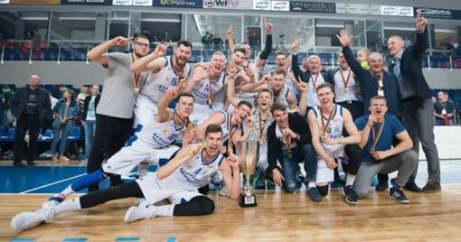 """Neptūnas-Akvaservis"" po trejų metų pertraukos triumfavo NKL čempionate"