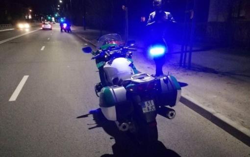 Per savaitę pareigūnai Kauno regiono keliuose užfiksavo 194 leistino važiavimo greičio viršijimus