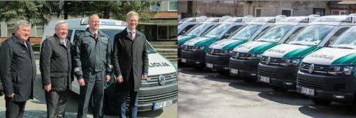 Į Kaišiadorių gatves išriedėjo nauji policijos automobiliai