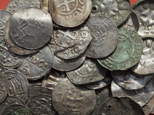 Vokietijoje berniukas rado legendinio danų karaliaus Haraldo Mėlyndančio laikų lobį