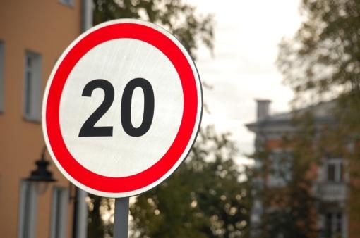 Lietuvoje prasidėjo saugaus greičio savaitė