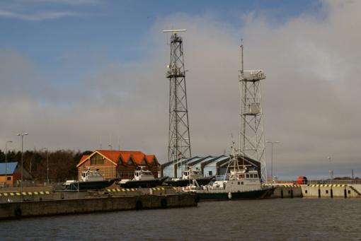 Kuršių mariose į Lietuvos vandenis keliasdešimt metrų buvo įplaukęs Rusijos pasieniečių laivas