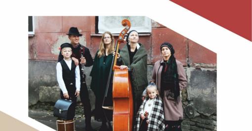 Šiauliuose vyks Klezmer Klangen ansamblio vakaras-koncertas