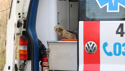 Švenčionių rajone sprogimo metu sužalotas vyras