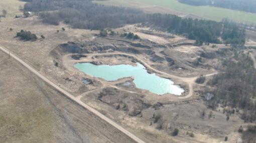Šiaulių regiono aplinkosaugininkai pažeidimų ieško iš sraigtasparnio (FOTO)