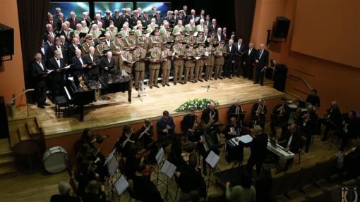 Tauragėje skambėjo vyrų chorų festivalio dalyvių balsai (FOTO)