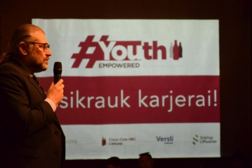 Jaunimas diskutavo apie profesinį kelią ir karjeros galimybes