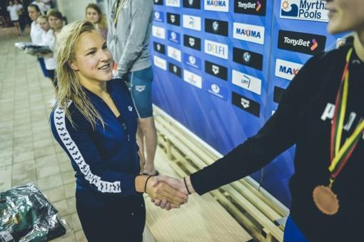 Plaukikė R. Meilutytė Brazilijoje iškopė į finalą