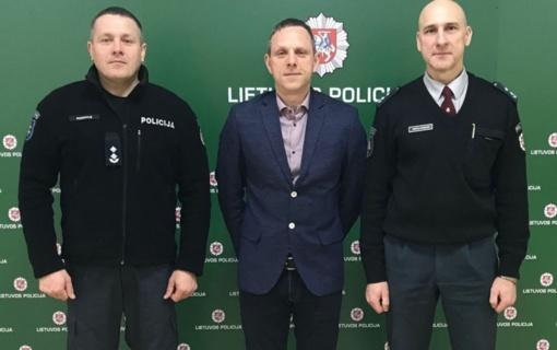 Šilutės rajono policijos komisariato Reagavimo skyriaus viršininko pareigas pradėjo eiti Marius Mulskis
