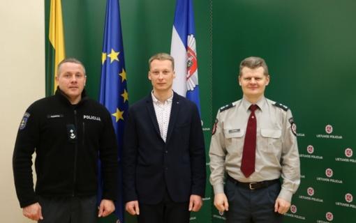 Išrinktas naujas Tauragės AVPK Kriminalinės policijos organizuoto nusikalstamumo tyrimo skyriaus viršininkas