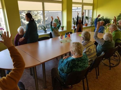 Alytaus senjorams aktyvūs užsiėmimai visus metus