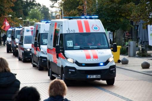 Geriausi greitosios medicinos pagalbos ekipažai vėl varžysis Palangoje
