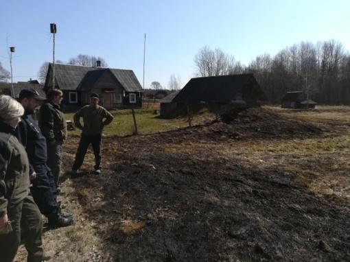 Priešgaisrinės ir aplinkos apsaugos vykdomi reidai Švenčionių rajone