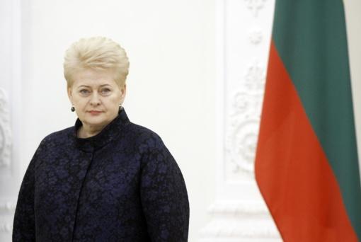 Prezidentė atmetė siūlomą teisingumo ministro kandidatūrą