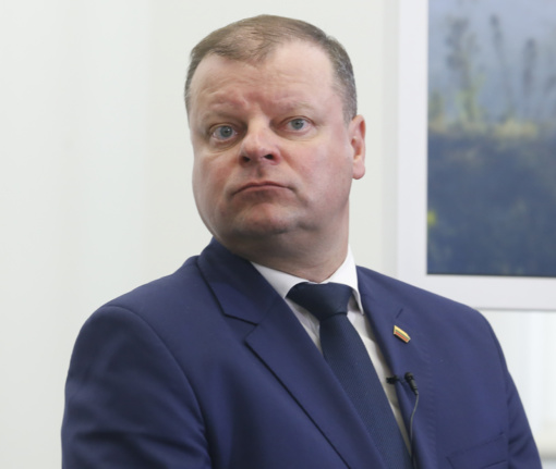 """Premjeras S. Skvernelis prisijungė prie """"Darom"""" akcijos"""