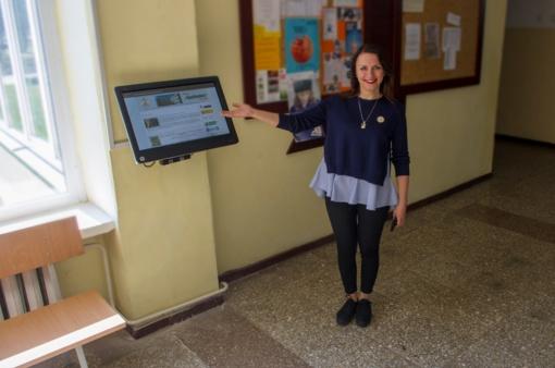 """Mokinių IT inovacijos """"Saulėtekio"""" gimnazijoje"""