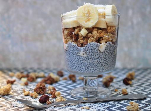 Ispaninio šalavijo sėklų (Chia) pudingas pakeis jūsų požiūrį į pusryčius