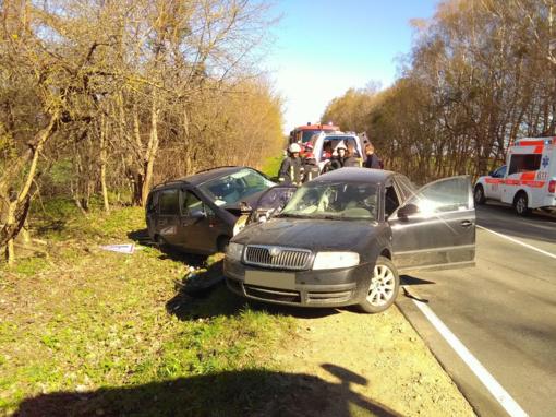 Nelaimė Prienų rajono kelyje (nuotraukų galerija)