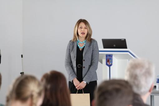 Moksleivių konferencijoje domėtasi Lietuvos istorijos šaknimis (FOTO)