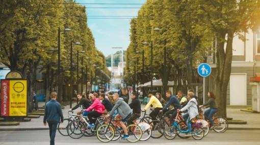 Kaune vyks tradicinis dviratininkų paradas