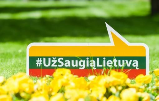 """Prezidentės inicijuotai kampanijai """"Už saugią Lietuvą"""" - dveji"""