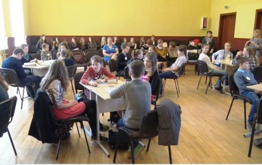 L. Stuokos-Gucevičiaus gimnazijoje vyko skaitymo skatinimo konkursas