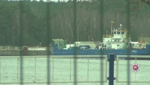 Tūkstančiai sunkiasvorių transporto priemonių kėlėsi į Neringą su apgaule gautais leidimais