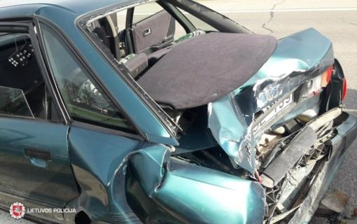 Eismo įvykį sukėlęs neblaivus vairuotojas uždarytas į areštinę