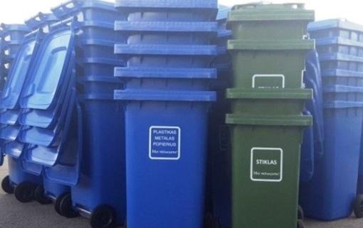 Savivaldybėms – parama atliekų surinkimo konteineriams įsigyti