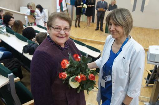 Ligoninės medikai paminėjo profesinę šventę