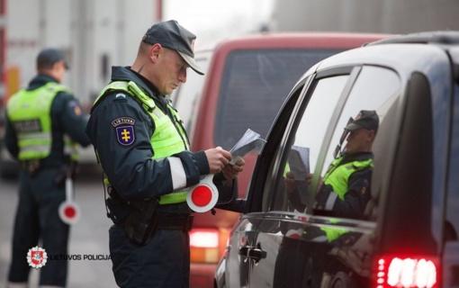 Gegužę – policijos reidai Lietuvoje