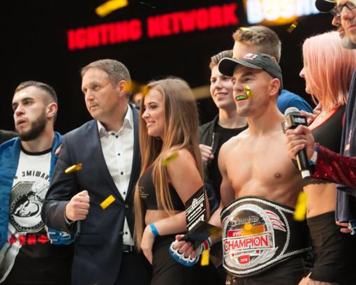 MMA turnyre Vilniuje - I. Baryso triumfas ir pergalingas M. Mizgaičio debiutas