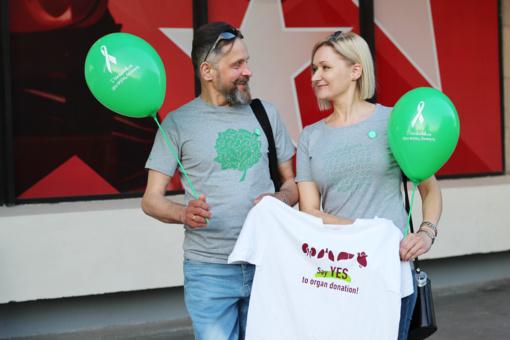 Gyvosios organų donorystės ambasadoriai, pavasarį sulaukę Kalėdų