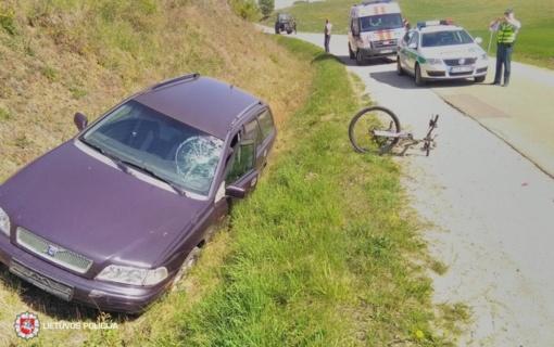 Net trečdalis sužeistųjų savaitgalio eismo įvykiuose – nepilnamečiai