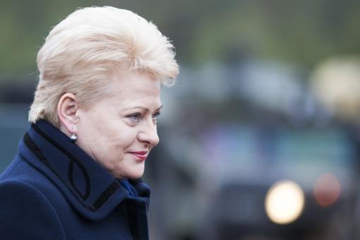 """Prezidentė: """"MG Baltic"""" istorija rodo, kad teisėsauga dirba savo darbą tinkamai"""