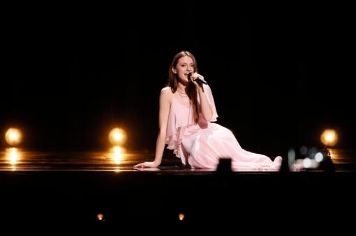 """Lietuvos atstovė I. Zasimauskaitė pateko į """"Eurovizijos"""" dainų konkurso finalą"""