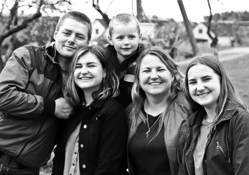 Mylinti ir draugiška šeima – didžiausia vertybė