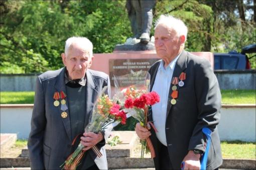 Paminėtos pergalės Antrajame pasauliniame kare 73-iosios metinės